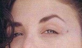 One of my favorite: Sherilyn Fenn's sultry eyebrows